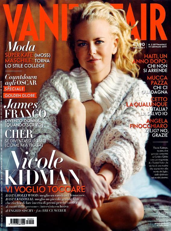 Nicole Kidman for Vanity Fair Italia January 2011