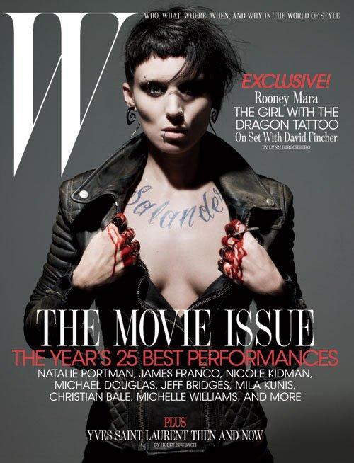 Rooney Mara for W Magazine February 2011