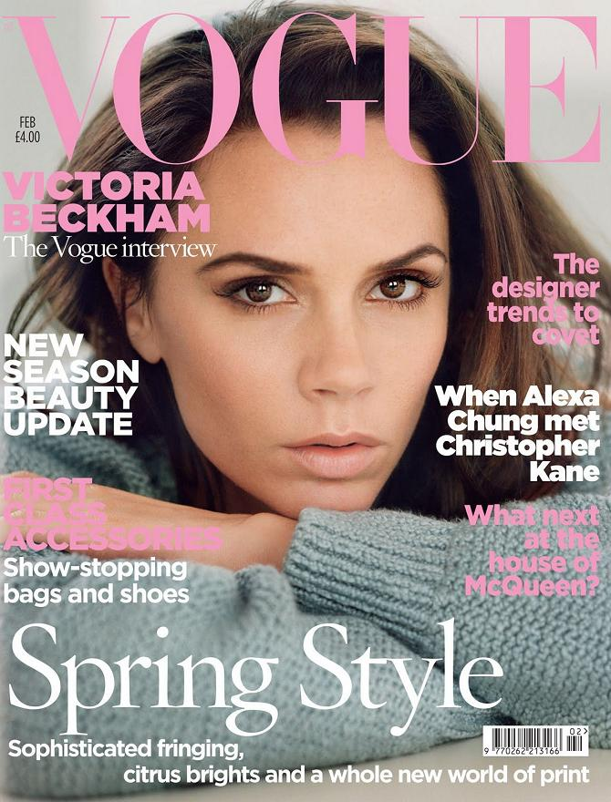 Victoria Beckham - Vogue UK February 2011!