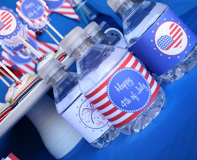 Labels 4th of July DIY Entertaining