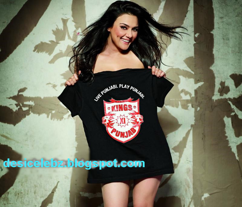 Is Preity Nude Behind T-shirt