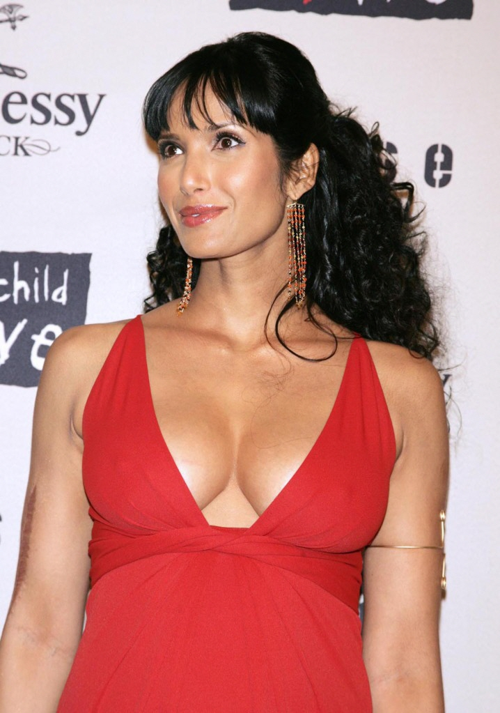 Padma Lakshmi Boobs cleavage