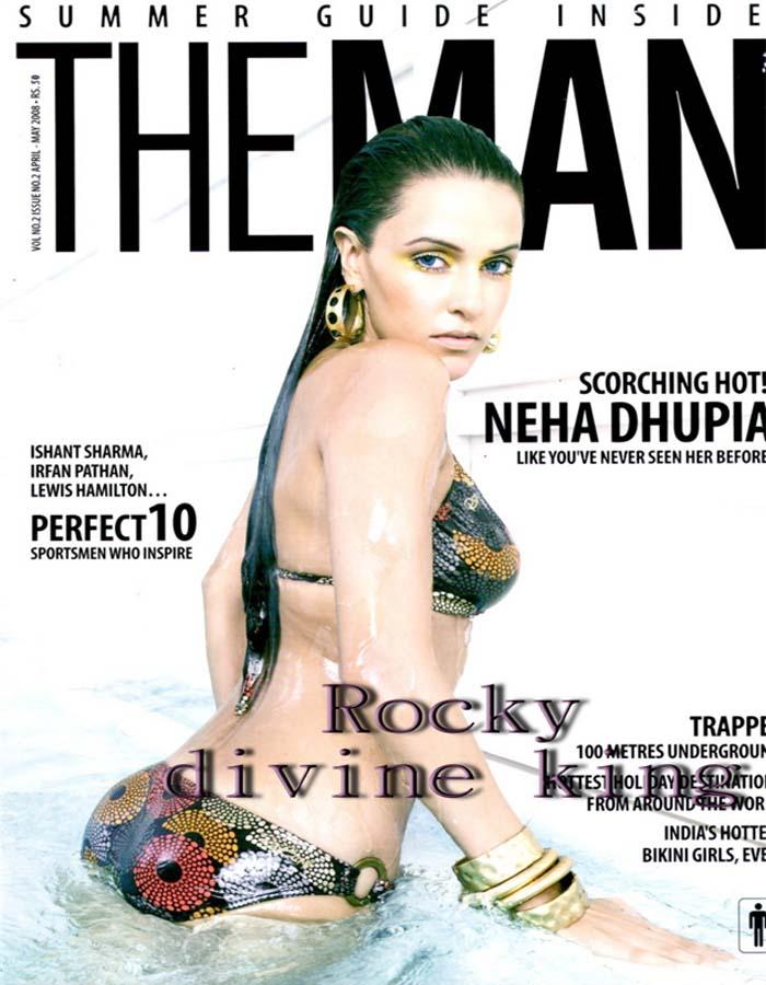 Neha Dhupia sexy hot bikini still