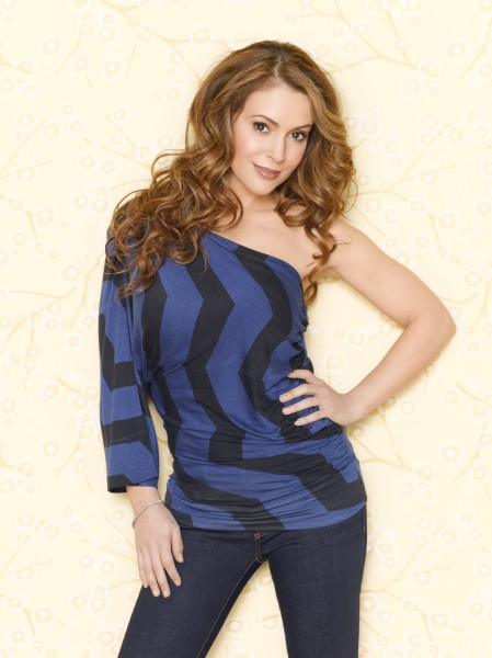 Beautiful Model Alyssa Milano