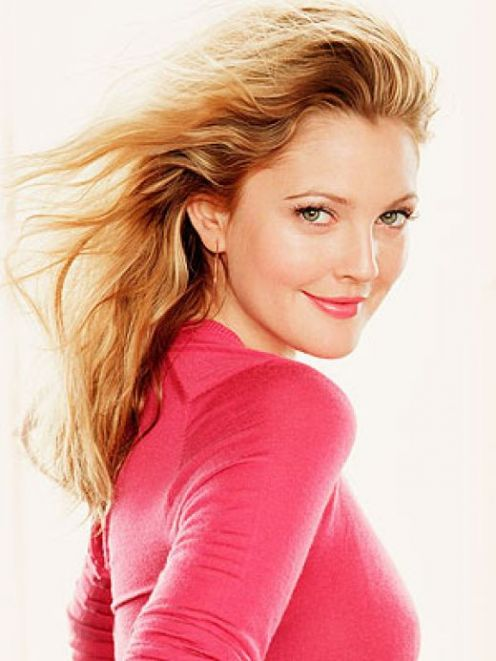 Beautiful Hollywood celebrity Drew Barrymore