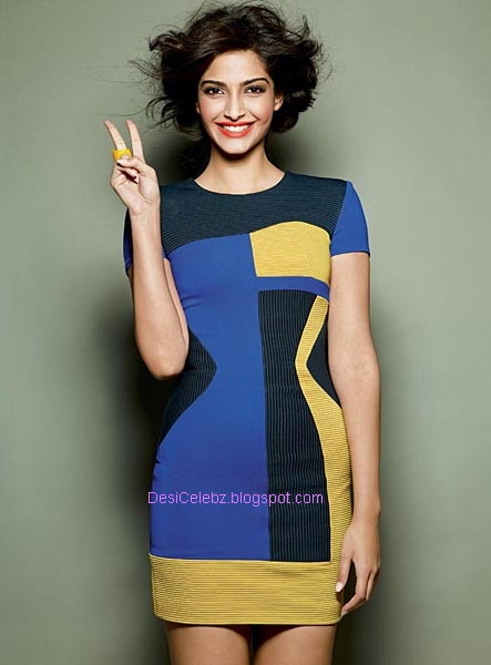 Sonam Kapoor hottest exposure for Cosmopolitan