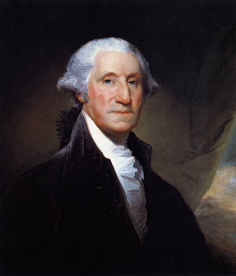 Personnes célèbres réelles ou imaginaires - Page 36 George+Washington