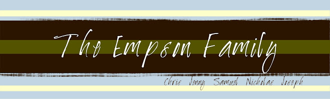 Empson Family Blog
