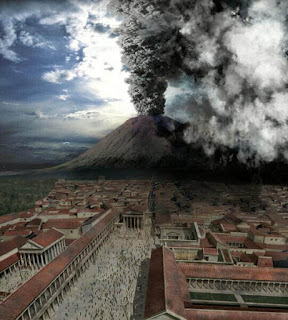Fotograma de 'Pompeya: El último día', serie documental creada por la BBC que recrea la erupción del año 79. [Copyright: Discovery Channel, courtesy of Crew Creative, Ltd.]
