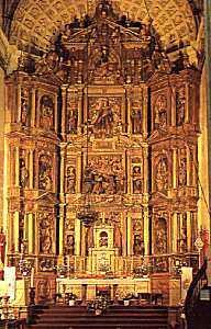 Retablo mayor de Santa María de la Asunción, Arcos de la Frontera (Cádiz)