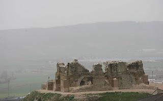 Estado actual del palacio de Teobaldo II