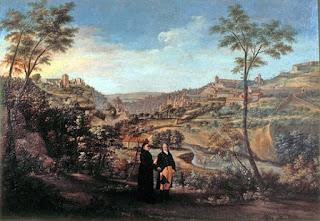 Fernando Marín Chaves: Vista de Granada desde el Camino de la Fuente del Avellano, mirando a Poniente, h. 1798. Colección de D. Manuel Morales de Jódar y D. Carlos Marañón de Arana (Sevilla).