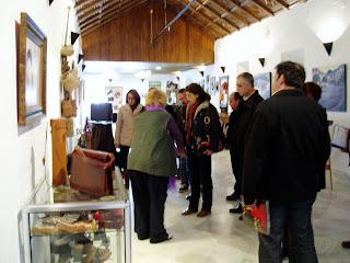 Visita de técnicos de Cultura de la provincia de Cádiz [Foto: F. Solano]