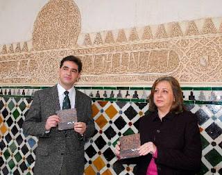 Juan Castilla y Mar Villafranca presentando este trabajo [Foto: Miguel Ángel Molina, EFE]