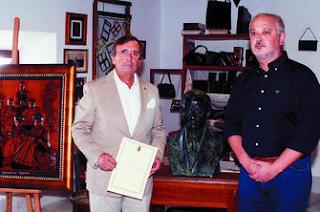 Homenaje a Manuel Coronil [Foto: Diario de Cádiz]