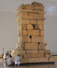 Monumento funerario ibérico de Pozo Moro, trabajos para su traslado