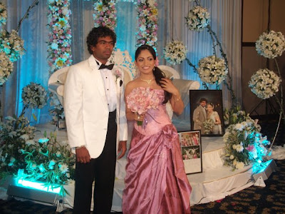 SNAP: Sri Lankan cricketer Lasith Malinga's Wedding Photos