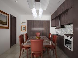 Wallpaper Ruang Makan Minimalis Klasik Terbaru