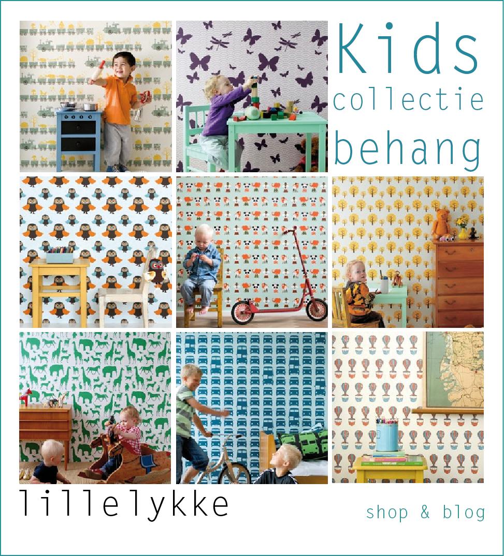lille lykke kids behang van ferm living. Black Bedroom Furniture Sets. Home Design Ideas