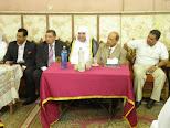 2 orang Dekan Kuliah sedang bergandingan...Ust Dr Mohammad dan, Ust.Dr Sobir Abd Al-Daim