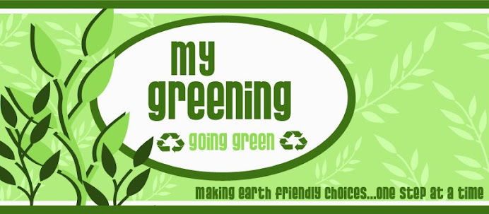 My Greening: Going Green