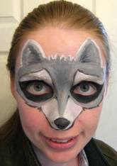 me as a racoon