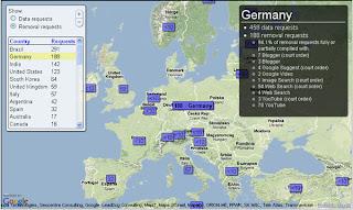 Němci na druhém místě v cenzuře internetu