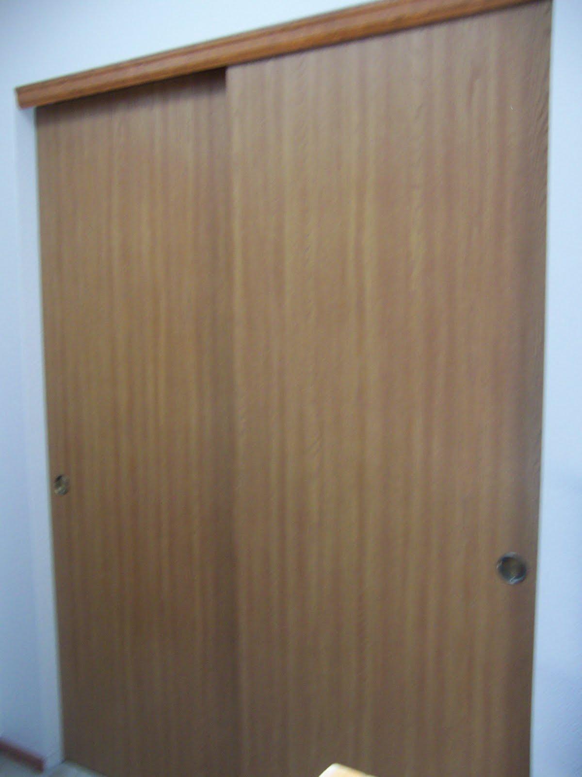 Sliding Closet Doirs Remodelaholic Frugalicious Closet Door Makeover Monthly Contributor
