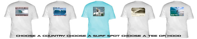 Male Surf Tee shirt samples