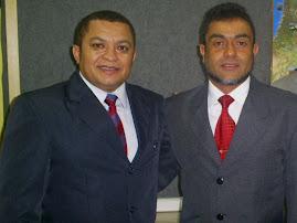 BISPO EDUARDO PRESIDENTE DO MINISTÉRIO NATAN DE CRISTO E O CANTOR JOSÉ ANTONIO.