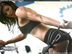 Hot Monique Minton Female Fitness Model Bestwallpaper