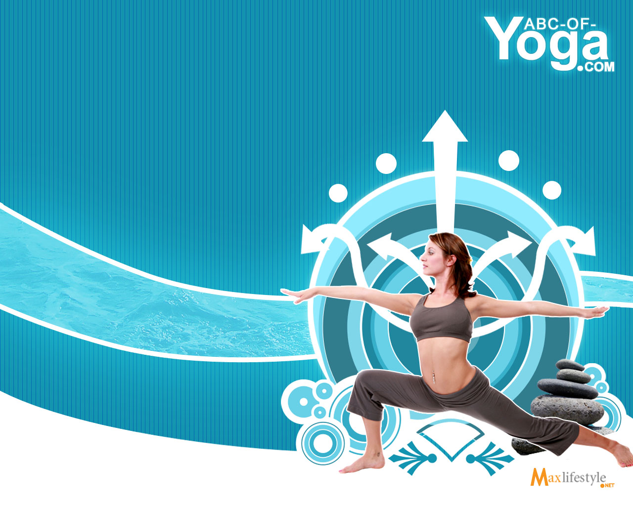 Flexible Body Yoga Woman Health Wallpapers