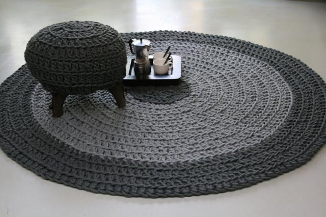Вязаный коврик своими руками TopHM - Блог