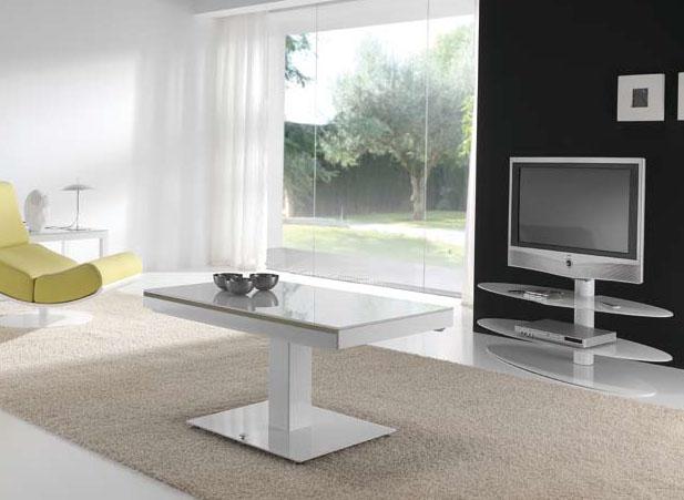 Mesas de centro elevables y extensibles a mesas de comedor - Mesas de centro extensibles ...
