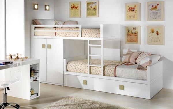 Xikara - Camas dobles infantiles para espacios reducidos ...