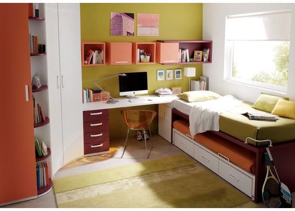 Dormitorios infantiles y juveniles para ni as ni os y - Habitaciones para ninos de dos anos ...