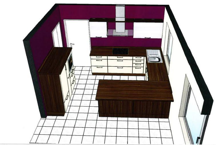 hausbautagebuch k che die erste. Black Bedroom Furniture Sets. Home Design Ideas