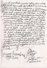 13.MAYO,1615: PRIMERA TOMA DE HABITO