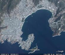 Bahía de Santa Lucìa en Acapulco