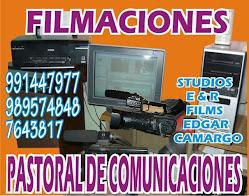 SERVICIO DE FILMACIONES
