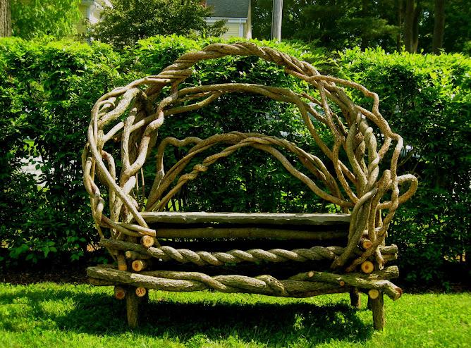Bittersweet Garden Bench