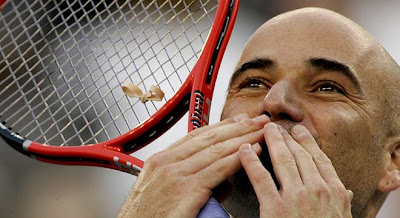 Andre Agassi Tennis Wins Picture