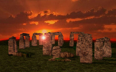 Stonehenge at Sun set Pics
