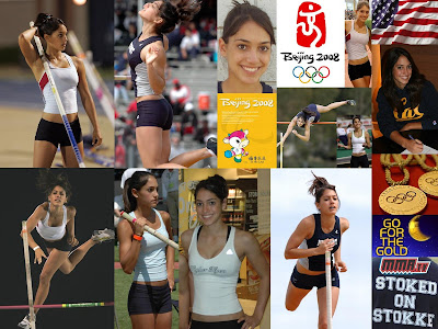 Hot and Sexy Pole Vaulter Wallpaper