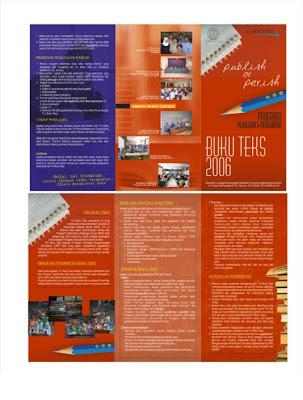 contoh brosur universitas menarik