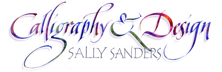 Sally Sanders Calligraphy & Design