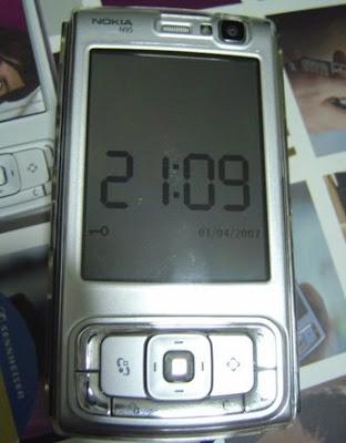 Reloj Symbian