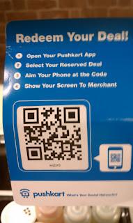 Pushkart QR Code
