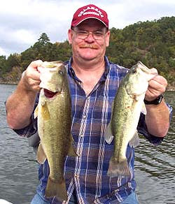 August 2008 for Broken bow lake fishing report