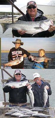 Lake Texoma striper fishing guide Brian Pritchard of Stripers, Inc.